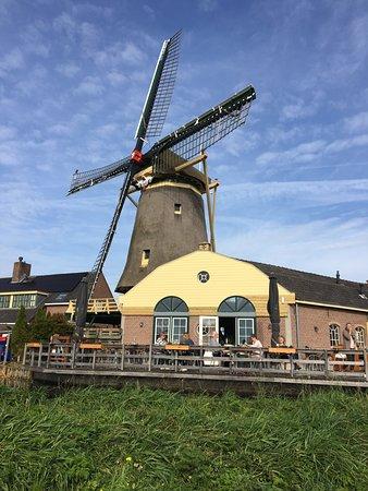 Nootdorp, The Netherlands: Restaurant de Vang en korenmolen de Windlust
