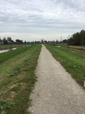 Nootdorp, The Netherlands: Einde wandeling in zicht