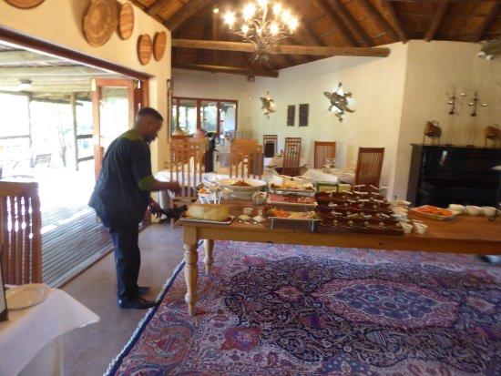 Addo, Sudáfrica: Frühstücksbereich