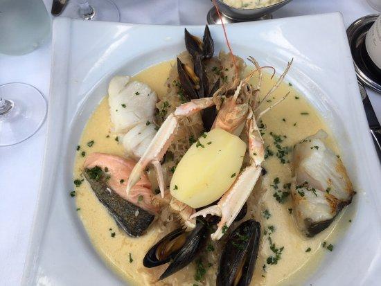 Valenciennes, France : choucroute au poisson