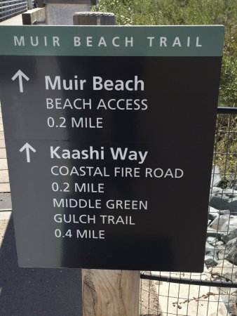 Mill Valley, CA: Trail signage