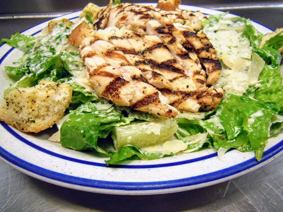 West Creek, NJ : Caesar Salad w/ Grilled Chicken Breast