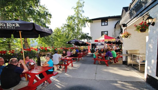 The Georgetown Pub: One of Canmore's finest patios