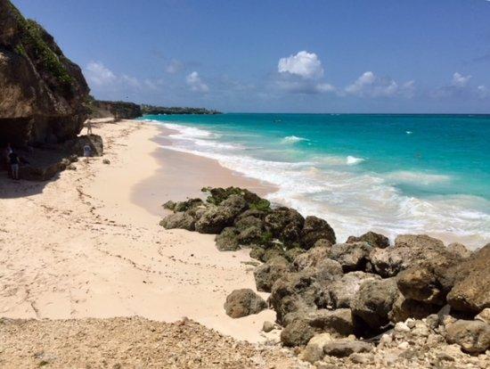 Union Hall, Barbados: Beach view