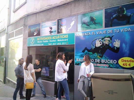 Portosub Buceo Pontevedra