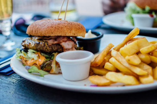Lymm, UK: The Brewery Tower Burger