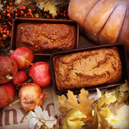Rancho Santa Fe, CA: Thanksgiving Pumpkin Pecan and Zucchini Bread