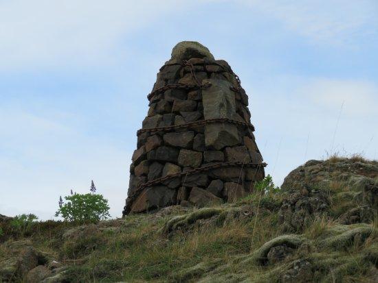 Borgarnes, Islandia: Stone Man