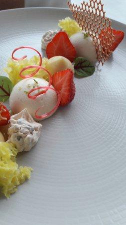 Cabestan: Association fraise et citron