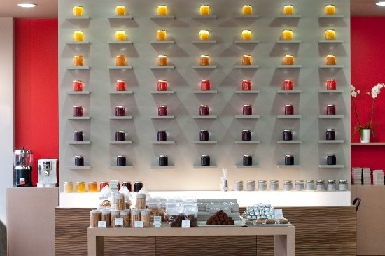 La Garenne-Colombes, Prancis: Le mur de confitures, un appel à la gourmandise et à la joie