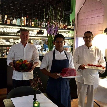Aalst, Belçika: Chef Bernhard, Chef Babu, Chef Armine