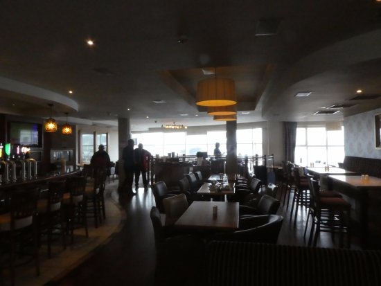 Killybegs, ไอร์แลนด์: bar and dining area upstairs