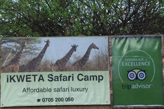 Meru National Park, Kenya: Signage