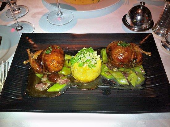 Restaurant Gary Danko: 3rd course - quail