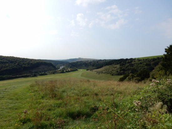 Horndean, UK: A view from Butser Hill