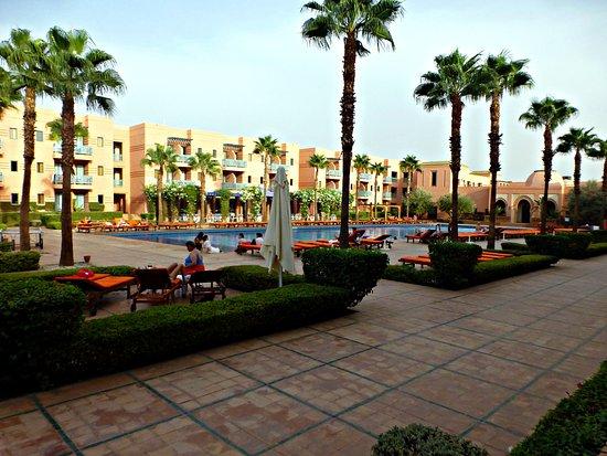 Balcon terraza billede af hotel les jardins de l 39 agdal - Hotel les jardins de l agdal marrakech ...