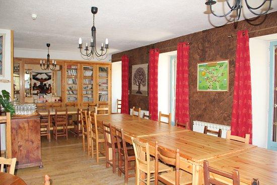 Nevache, Francia: salle à manger