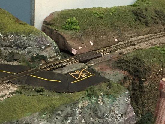 Paterson, NJ: Non-running railroad display