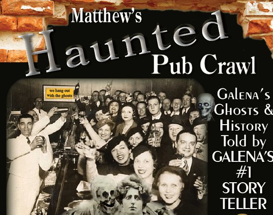 ‪Matthew's Haunted Pub Crawl‬