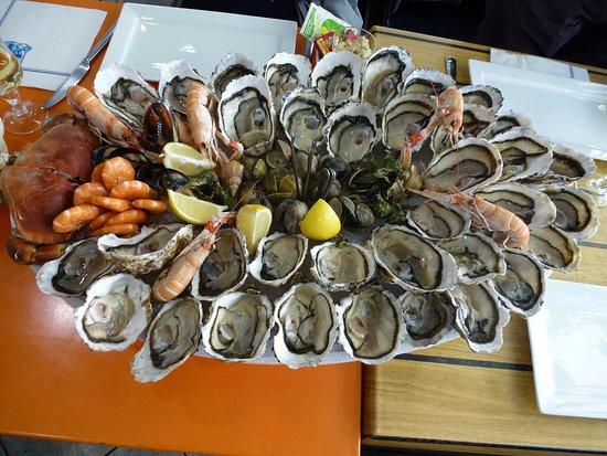 Les Trésors de la Mer : plateau de fruits de mer