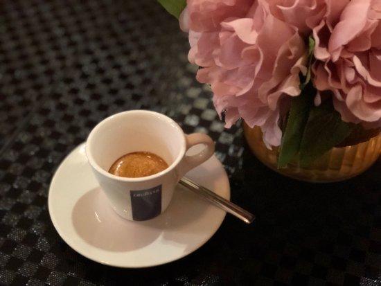 Yongkang, Κίνα: Nice Italian espresso