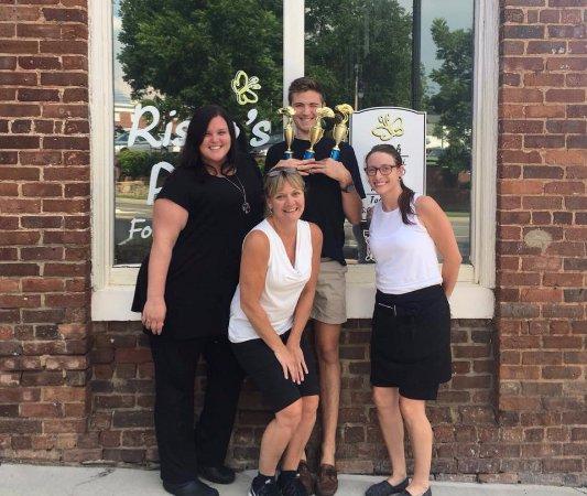 Statesville, NC: The Risto's Team participates in local activities