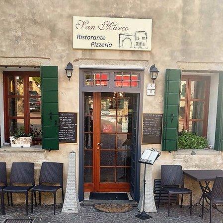 Arqua Petrarca, Italien: Ingresso Ristorante Pizzeria San Marco