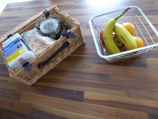 Marischal Apartments: Das Frühstück