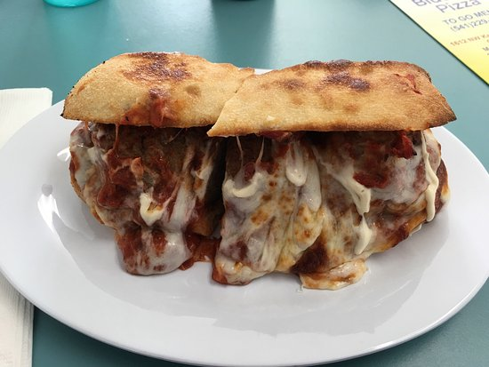 Roseburg, OR: OMG!  Great meatball sandwich!