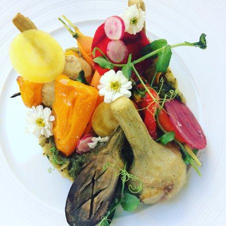 Aubusson, Frankrike: Les légumes dans tous leurs états !