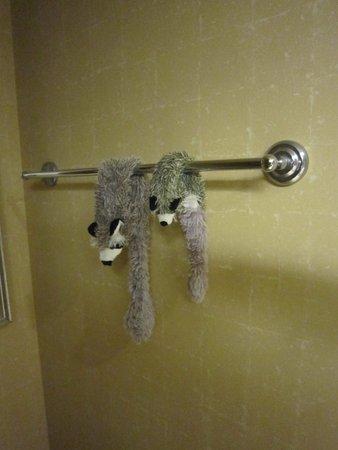Horseshoe Bossier City: guys drying..