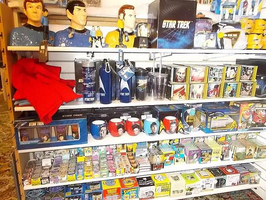 Deadwood, SD: Star Trek merchandise