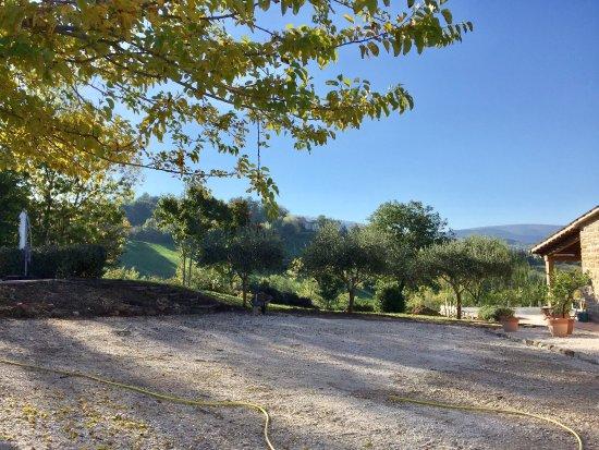 Casa Giuseppe Sarnano a luxury farmhouse with pool set in stunning countryside.