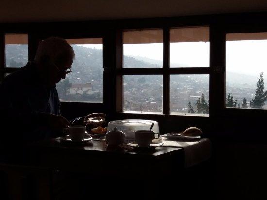 Mirador de Santa Ana: salle du petit déjeuner