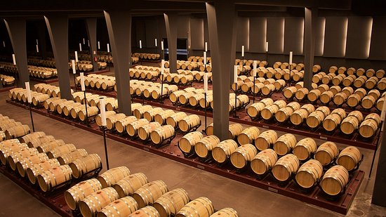 Barbastro, Hiszpania: Bodegas SOMMOS, Interiores