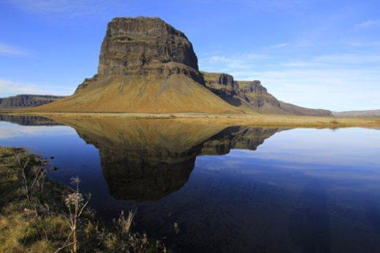 Hafnarfjordur, Iceland: Lómagnúpur, southeast Iceland