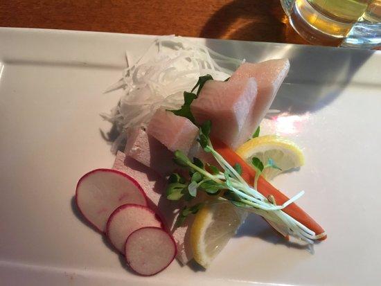 Kabuki Japanese Restaurant: Fatty Hamachi Sashimi