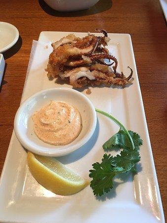 Kabuki Japanese Restaurant: Ika Gesso 9 Octopus)