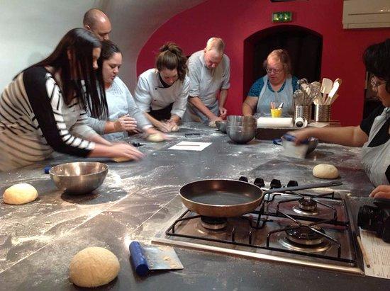 Baguette making class at la cuisine paris picture of la - La cuisine cooking classes ...