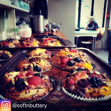 Martinborough, Nouvelle-Zélande : Summer fruit Vegan Muffin