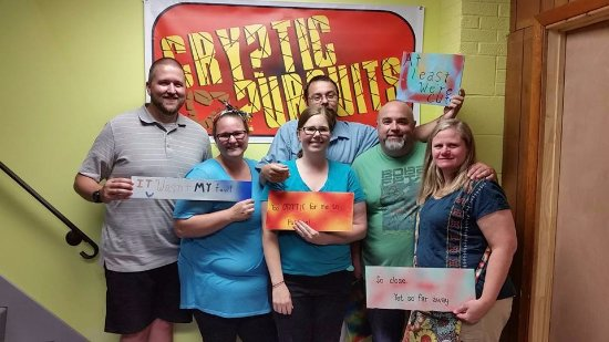 Cryptic Pursuits: So close to escaping! Can you escape?