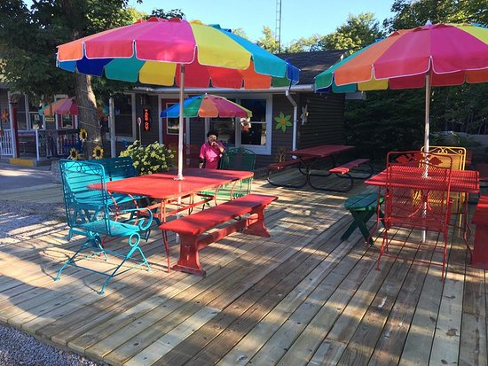 Drummond Island, MI: New deck