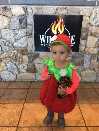 Mashpee, Массачусетс: Even little strawberries love Wildfire !!