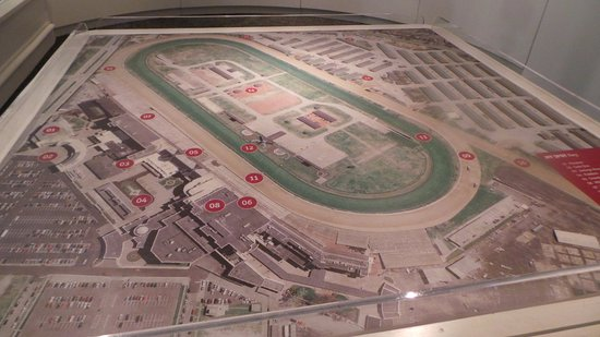 Kentucky Derby Museum: Map of grounds