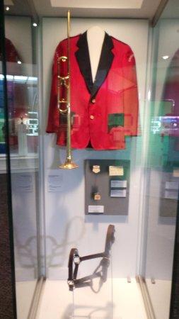 Kentucky Derby Museum: Bugler's attire.