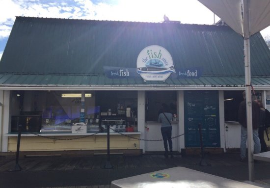 The fish store at fisherman 39 s wharf victoria omd men om for Fish stores in utah