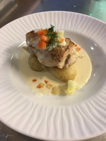 Angelholm, Sweden: Fisk och skaldjur