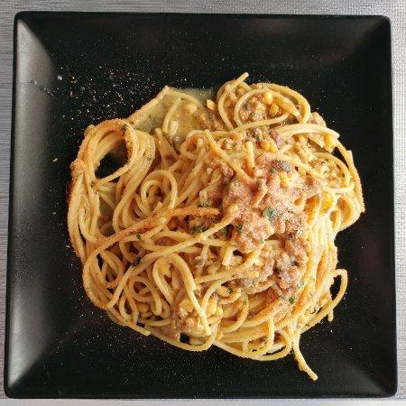 Province of Malaga, Spain: Spaghetti con sardinas
