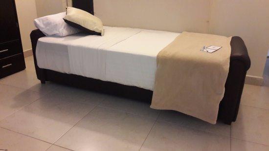 San Francisco del Rincon, Mexique : Sofà cama para persona extra.