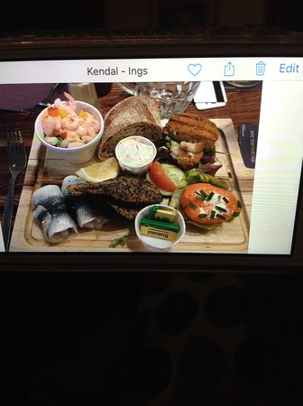 Ings, UK: The Fish Platter